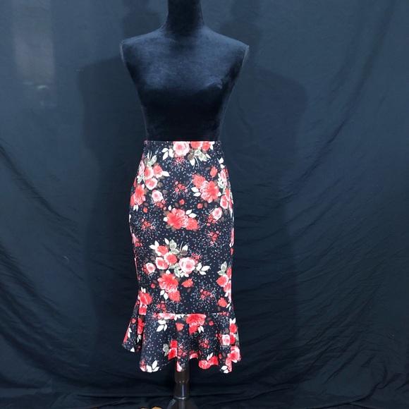 MOA USA Dresses & Skirts - Floral skirt